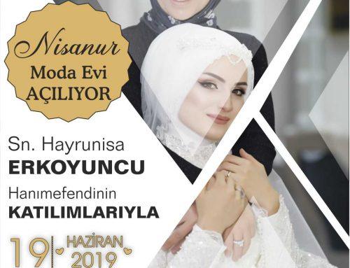 Nisanur Moda Evi Erzurum Şubesi Açılıyor